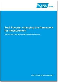 Libros Gratis Descargar Fuel Poverty: Changing The Framework For Measurement Falco Epub