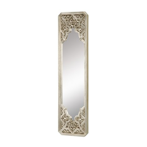 Sterling Gothic Mirror, Antique Silver Leaf