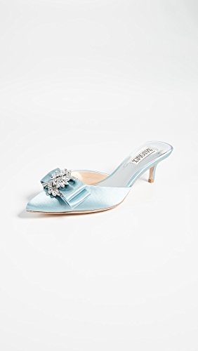 Badgley Mischka Womens Hagen Pump Blu Cristallo
