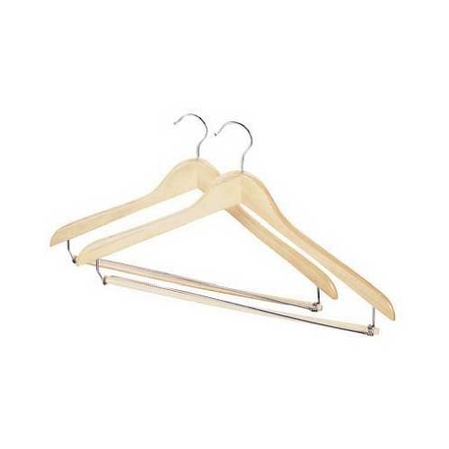 - MD Group Wood Suit Hanger (Set of 2), 10.5