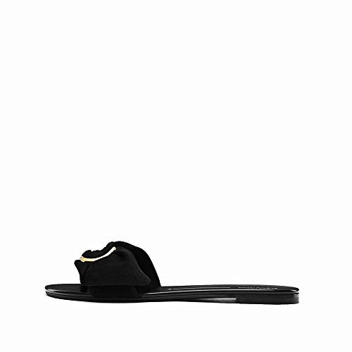 Été Ouvert Sandales Femmes Toe Pur Chaussures Plates NSX Couleur Pantoufles Ré Arc HdSHwZ
