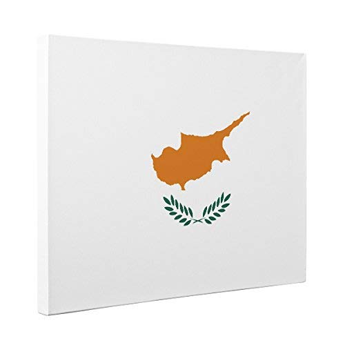 Cyprus Flag CANVAS Wall Art Home Décor