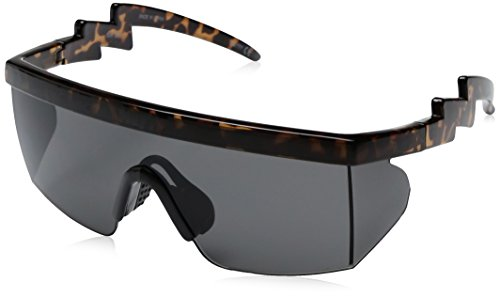 Neff Men's Brodie, Tortoise, One - Sunglasses 80s