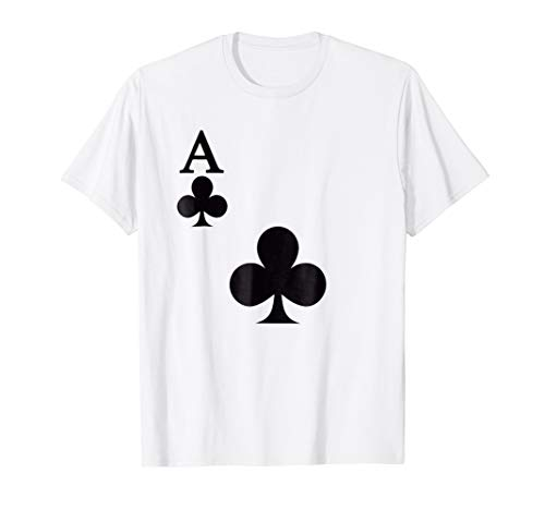 Ace of club group matching halloween costume t shirt]()