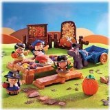 : Fisher-Price Little People Thanksgiving Celebration - Pilgrims and Indian Friends