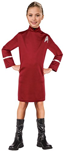Star Trek Movie Uhura Costume (Rubie's Costume Kids Star Trek: Beyond Uhura Costume, Small)