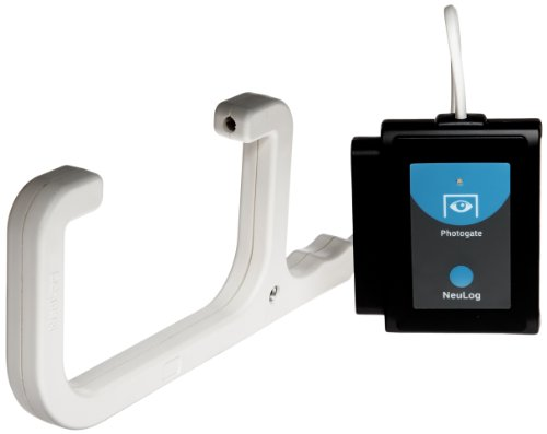 NEULOG Photo Gate Logger Sensor, 16 bit Digital Resolution, 10000 S/sec Maximum Sample Rate