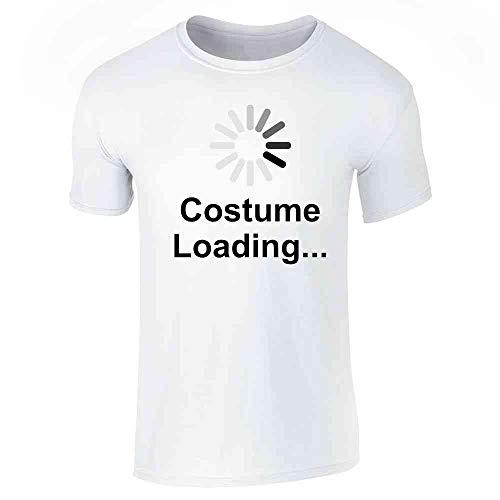 Pop Threads Costume Loading Funny Halloween White S Short Sleeve T-Shirt