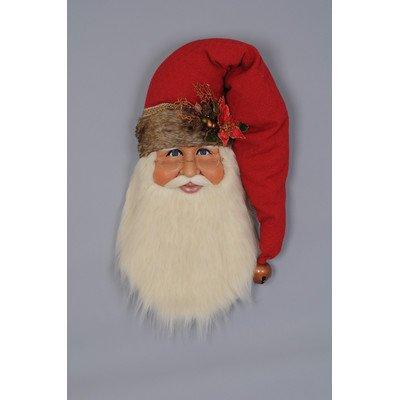 Christmas Woodland Santa Head