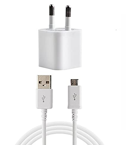 DEEP GLOBAL White Wall Charger Compatible with Samsung GalaxyS6 Chargers