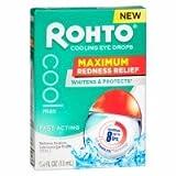 Rohto Cooling Eye Drops, .4 fl oz - 2pc