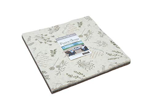 "Prairie Grass Layer Cake, 42-10"" Precut Fabric Quilt Squares by Holly Taylor"
