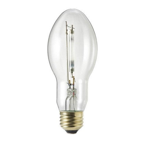 Philips Lighting 344465 BD17 High Pressure Sodium Lamp 100 Watt E26 Medium Base 8550 Lumens 21 CRI 2100K Ceramalux Non-Alto (Medium Base Bd17)