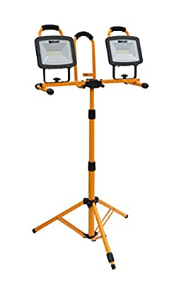 Woods WL40272S Work Light, Tripod, Orange