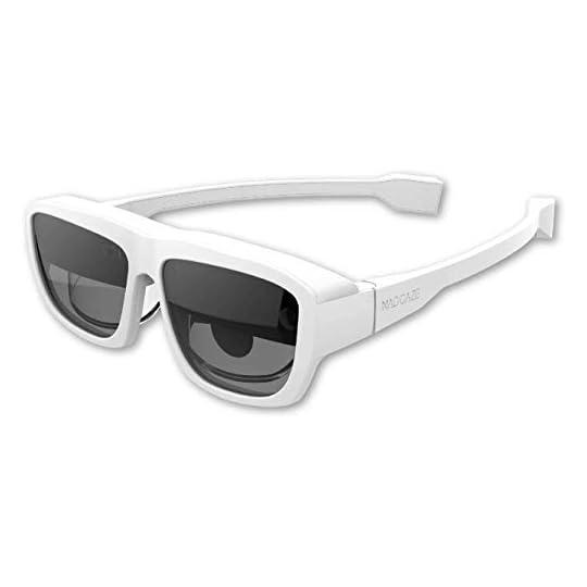 "MAD Gaze Glow Plus – AR MR Binocular Smart Glasses   53° FOV   118"" Virtual Screen at 1080P HD   Wearable Display…"