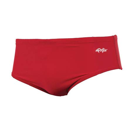 (Dolfin Swimwear Men's Solid Racer - Red, 40)