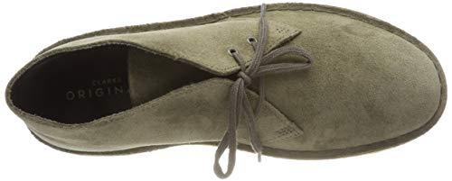 Suede Desert Boot Olive Clarks Verde Uomo Originals Boots Stivali RSw8t