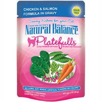 Natural Balance Pet Food Platefulls Canned Cat Food Chicken and Salmon — 3 oz, My Pet Supplies