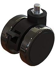 Next Level Racing Lockable Castor Wheels 10 Pack