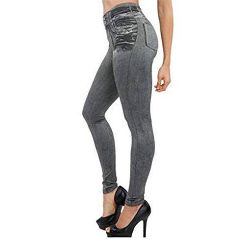 5176851c1727c church123 Women Fleece Lined Winter Jegging Jeans Genie Slim Fashion  Jeggings Leggings Woman Fitness Pants,