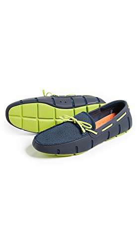 Loafers SWIMS Men's Green Braided Navy Lace nqnwB01tg