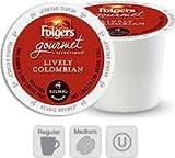 keurig coffee 120 - Keurig Folgers Gourmet Selections Coffee Lively Colombian 120 K-cups by Folgers