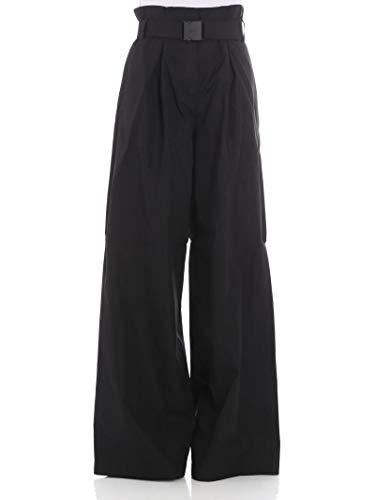 Pantalón N°21 Algodon B09106969000 Mujer Negro qIwwT4HO