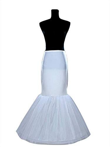 16fcd52308f9 Mermaid Petticoat Women's Underskirt 1 Hoop for Wedding Dress Crinoline  Slips for Bridal