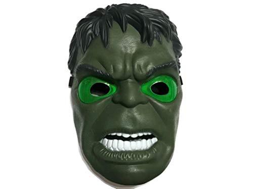 Superhero The Avengers Costume LED Light Eye Mask (Hulk) ()