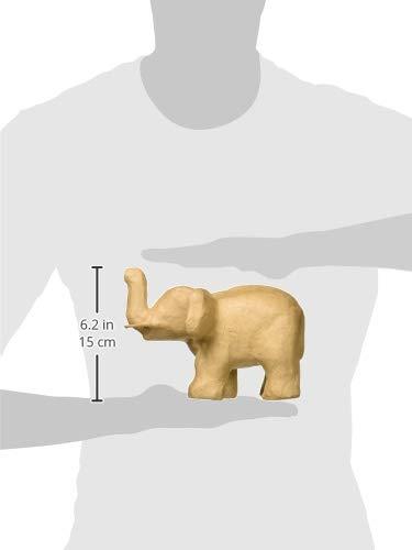 Craft Ped Paper CPLEDC0004 Mache Elephant 7.5