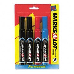 - Marks-A-Lot Regular Chisel Tip Permanent Marker by Marks-a-lot