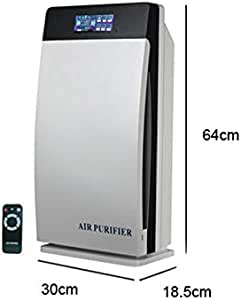 ODJDBDK Purificador De Aire HEPA, Activado, Carbono, Ozono, Iones Negativos, UV, Ambientador para Oficina En Casa ...