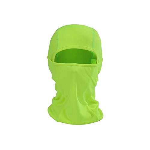Loc Dog Halloween Costume (Light Green Bike Scooter Face Protective Face Mask Outdoors Motorbike Cycling Helmet Mask order)