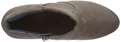TOM TAILOR Tom Tailor Damenschuhe - botas de caño bajo de material sintético mujer marrón - Braun (lava)