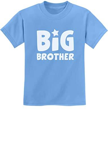 TeeStars - Big Brother Idea for Elder Sibling Kids T-Shirt X-Small California Blue