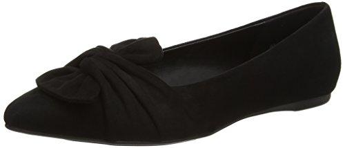 New Look WoMen Wide Foot Kally Closed-Toe Flats Black (Black)