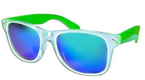 générique Lent Miroir Sans Monture À Femme Lunettes Vert Fluorescent Marque Wayfarer Homme Bleu Soleil Transparent De 7wZ15wq