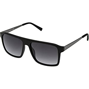 GUESS Unisex GF5030 Matte Black/Smoke Gradient Lens One Size