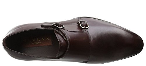 Mezlan Mens Plaine Toe Double Sangle Marron