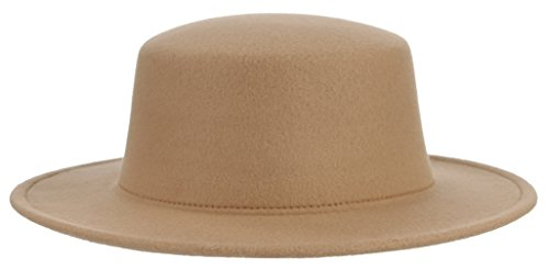 Adult Women Men Classic Flat Top Hat Fedora Hats Trilby Caps Panama Hat Jazz Cap -