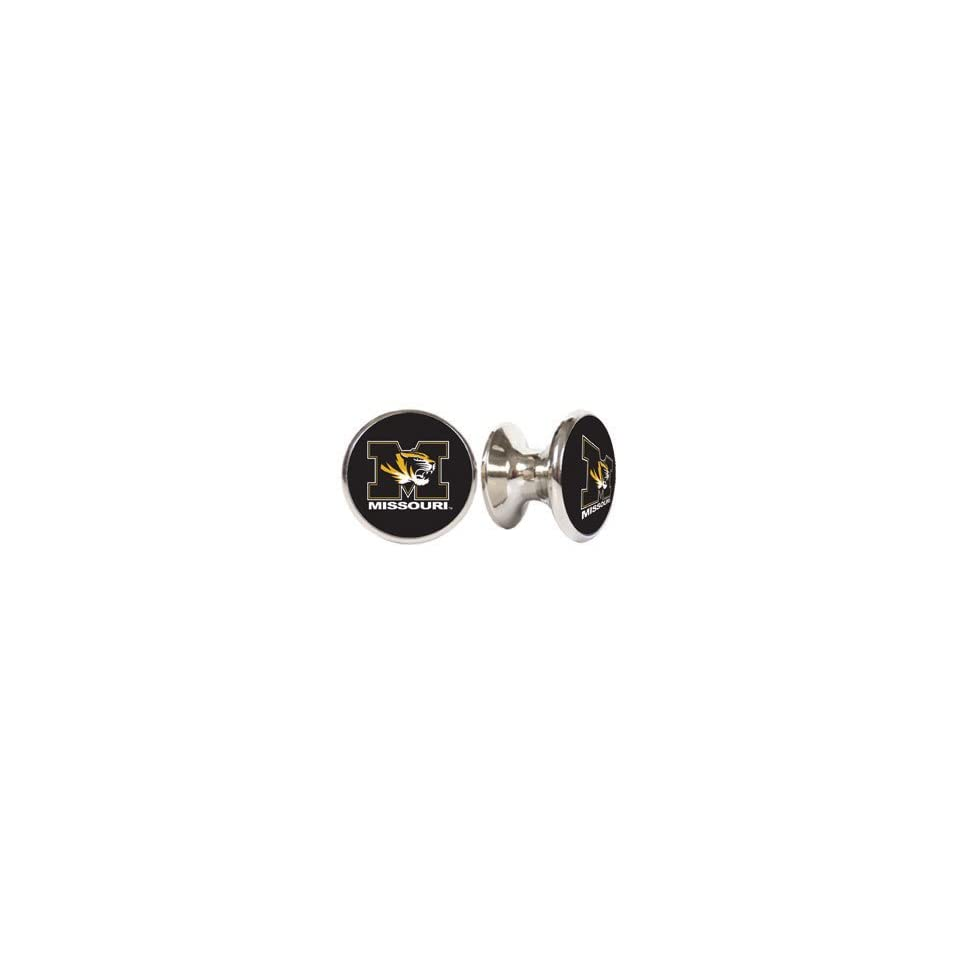 Missouri Tigers NCAA Stainless Steel Cabinet Knobs / Drawer Pulls (2 pack)