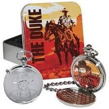 John Wayne Men's Talking Pocket Watch with Tin ()