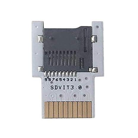 Yaoaoesn Adaptador SD2VITA PSVSD Micro SD Adaptador de ...
