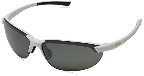 Smith Optics Parallel 2 Carbonic Polarized Sunglasses, Matte White/Carbonic Polarized ()