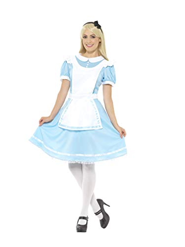 Smiffys Women's Wonder Princess Costume, Blue, Small -