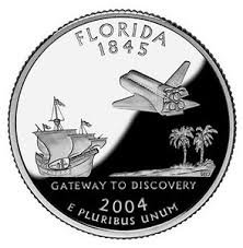 2004-S Silver Proof Florida State Quarter
