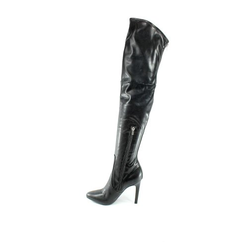 Marc Fisher Womens Smoking Sexy Skinny Heel Knee-High Boots, Black, 6.5 M US