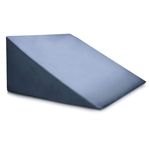 Bed Wedge Pillow - Clinical Grade Incline Bed Rest for Sitting Up - Sleep Back Support, Pregnancy, After Surgery Recovery