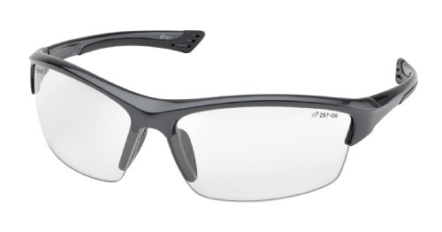 Elvex SG-350C-GRAY Sonoma Safety Glasses, One Size, Clear
