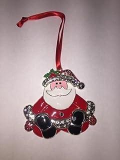 newbridge silverware christmas santa tree decoration
